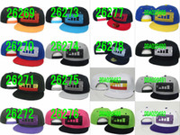 Unisex hat boxes - snapbacks hat custum design name brand caps street fashion snapback hat wait B hat men hip hop