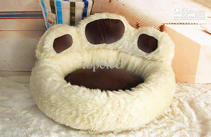 Hot sale! Cute Pet Dog House Bed Nest Puppy Cat Soft Beds Plush Warmer ...