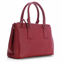 Wholesale Overflow Designer handbags Women fashion luxury leather bags or shoulder bags x20x13cm Bright red fast