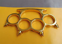 Wholesale Gold Brass Knuckle Duster Belt Buckle New