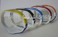Precio de Venda de la energía del silicón del balance-2 colores en la venda del brazalete de la pulsera del holograma del silicón del DÍA del JUEGO de la venda venda el wristband del balance el envío libre