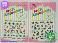 Wholesale Mixed Watermark Seires Nail Art Sticker Mix Design Nail Decal