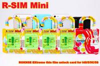 Wholesale via China HongKong Post ORIGINAL Best R SIM Mini EXtreme Xtreme Unlock card for S C S IOS MOQ