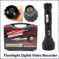Wholesale H GB with inch Sony CMOS High Quality Flashlight Digital Video Recorder