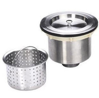 Wholesale Steel kitchen drainer sink strainer stainless steel cabarets kitchen sink