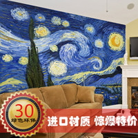 Wholesale Fashion oil painting tv background wallpaper mural