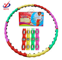 Wholesale New Arrival Combined Hula Hoop lose weight classic massage Sport