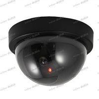 Wholesale LLFA3740 Fake Dummy Dome Surveillance CAM Dummy Indoor Security CCTV Camera flashing for Home Camera LED