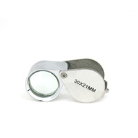 Wholesale Jeweler s Loupe x mm Silver Eye Magnifying Glass