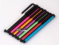 Wholesale Capacitive Touch Pen For Samsung galaxy i9300 i9500 Iphone s Stylus Pen For Ipad Mobile Phone