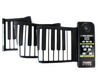 Wholesale New Silicon Flexible Roll Up Piano Standard Piano Keys Midi Out Rhythm Demonstration Songs D2267A