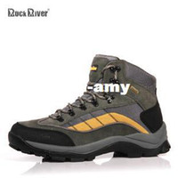 river rock - River rock full water proof and free breathing hiking shoes autumn and winter high in the male outdoor shoes