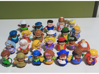 Wholesale New Little People PVC Figure Dolls Toys Cute Cartoon Doll Figures Toy Loose Random delivery