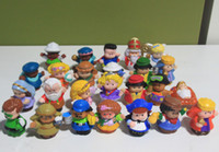 Wholesale style mixed New Little People PVC Figure Dolls Toys Cute Cartoon Doll Figures Toy Loose