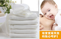 Wholesale cm baby infant products Ecological cotton gauze diapers changing mat super absorbent gauze nappies