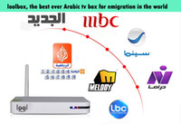 Wholesale Free watching No monthly yearly payment Arabic IPTV more than HD arabic channels loolbox the best arabic tv box