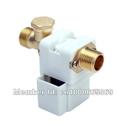 Wholesale Normally Open quot DC V Solar water heater automatic water inch Electric Solenoid Valve