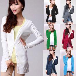 Wholesale New Womens Ladies Casual Soft Long Knitwear Cardigan Shirt Coat Jacket Sweater