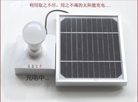 Wholesale outdooring lighting Solar power Lamps Emergency Light USB Portable Mobile Charger W Led globe lights