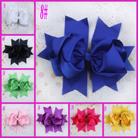 Wholesale Flower Baby Head Band Crochet Headbands Big Girl Hair Accessories Hair Clip For Kids Hair Bow