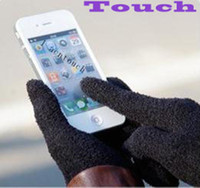 Wholesale 2013 fashion touch screen glove phone two piece mean separation to keep warm