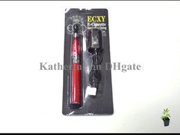 Ego t CE4 Blister Kits Ego 650mah 900mah 1100mah ego Battery CE4 Electronic Cigarette Various colors Mixed order ECXY Black Retail Packaging