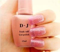 Wholesale 48pcs DJ UV Gel Nail Polish Soak Off UV Polish Gel ml Nail Art Nail UV LED Gel Polish Coat colors