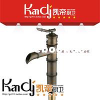 bamboo basin faucet - Antique copper faucet counter basin antique bamboo basin