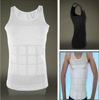 Men Corset & Bustier Christmas Hot Selling! Men's Firm Tummy Belly Buster Control Slimming Body Shaper Vest Underwear Shirt