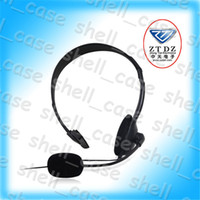 Wholesale Hottest Christmas Earphone Headphones Headsets With MIC and Volume Control With Retail Package For Playstation Play Station PS4 PS