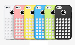 Wholesale New Arrival Candy Grip TPU Gel Soft Silicone Rubber Case Cover Skin Shell for Iphone C Mix Colors DHL