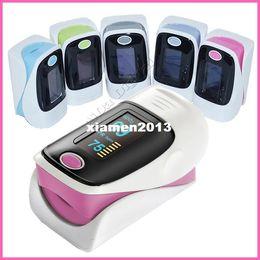 Wholesale health care OLED display Fingertip Pulse Oximeter Blood Oxygen SpO2 saturation oximetro monitor SH C2