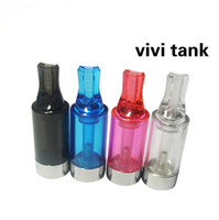 Wholesale Promotonal Hot Ego VIVI tank clearomizer Clear clearomizer atomizer tank clear cartomizer replace DCT Protank for EGo opec