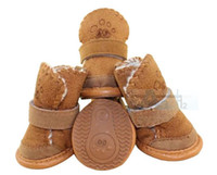 Wholesale 2014 Hot Fashion Set Chihuahua Dog Warmmer Shoes Boots Pet Peppy Winter Apparel D2_10