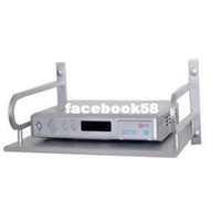 Cheap Wholesale - Solid aluminum space digital tv set top box rack set top box mount bracket rack