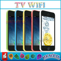 4. 0inch Screen 5C V5 Cell Phone With WIFI TV GSM Unlocked Qu...