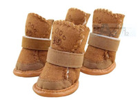 Wholesale Fashion Hot Warmmer Dog Chihuahua Shoes Boots Pet Clothing Peppy Winter Apparel D2