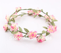 Fashion Hawaiian Flower Garland Wedding Bridal Head Crown Wr...