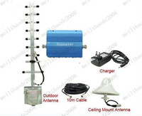 Wholesale GSM980 Mobile Phone Signal Booster Repeater Amplifier GSM Signal Booster with Full Accessories MYY7716