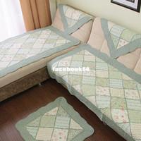 Atacado - 198 ! bordados colchas tecido de sofá almofada almofada de sofá série rombo flor