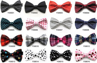Cheap Bow Tie printing bow tie Best Men Rayon polka dots bow tie