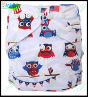 Wholesale Jctrade Cartoon Reusable Cloth Diapers With One Microfiber Inserts Baby Cloth Nappies