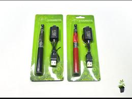 Wholesale CE4 Starter Kits Electronic Cigarette Blister kits CE4 atomizer mah mah mah battery in Blister Packing various colors DHL Free