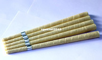 Wholesale pure beewax ear candle unbleached organic muslin fabric with protective disc CE quality approval