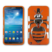 Wholesale Hybrid Electroplating PC Silicone Combo Case Rotatable Strap BELT CLIP ARMBAND for Samsung Galaxy Note III N9005 With Packing