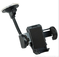 For Apple iPhone car gps stand - High holder for iphone samsung Universal Car Mount Windshield Holder Support Stand Accessory with Extendable Arm For Cell Phone GPS