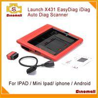 Wholesale 2014 New release Launch X431 EasyDiag IDiag AutoDiag X Auto Diag for IPAD original update Easy diag via internet