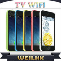 Wholesale i5C TV WIFI Cell Phone PXPHOE inch Screen Dual SIM Card with Unlocked Mobile Phone More Colour MD0606