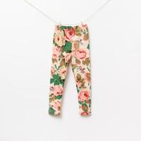 Baby girl kids dress tutu skirt rose flower legging pants fl...