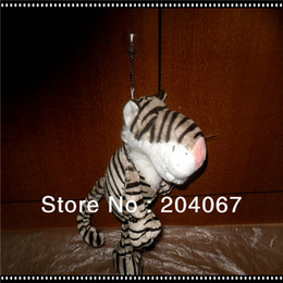 """NICI FOREST ANIMAL TIGER TOY 25CM OR 10"""" SIZE STUFFED DOLL FOR XMAS GIFT TOY 1PCS FREE SHIP"""